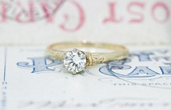 antique engagement ring simple diamond engagement ring