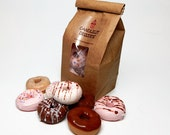 Mini Donut Soaps - Eight Pack in a Bakery Bag