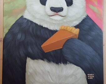 Panda and Pumpkin Pie
