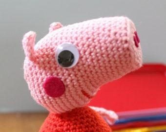Peppa Pig Amigurumi Toy