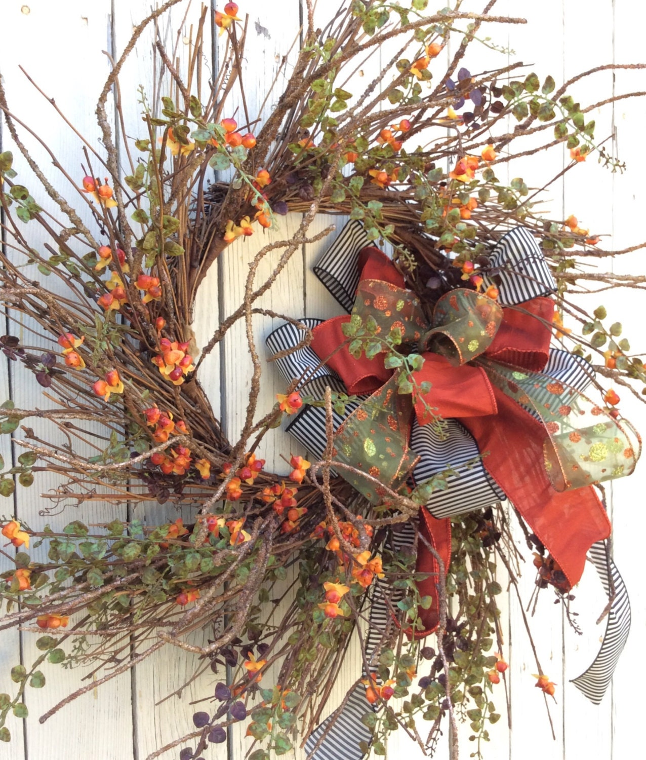 Fall Wreath Sale Autumn Wreath Harvest Wreath Thanksgiving