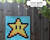 Super Mario Brothers Quilt Along & BOM Club - Block 03: Star