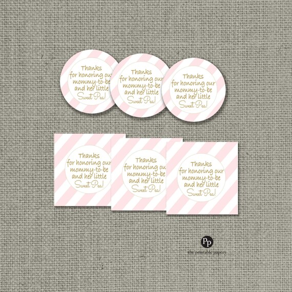 Baby Shower Gifts For Mommy To Be ~ Baby shower gift tags thanks for honoring our mommy to be