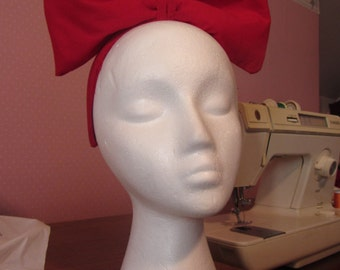 """Red """"Kiki's Delivery Service"""" Bow"""