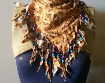 Beaded Lumber Bandana