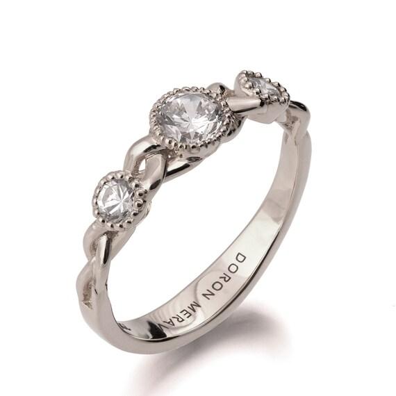 Claddagh Ring Braided Side