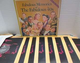 Fabulous Musical Memories of the Fabulous '40s - Reader's Digest 33 1/3 Album Set