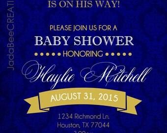 PRINCE THEME Baby Shower Printable
