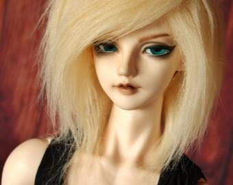 BJD fur wig Blonde (choose your size)