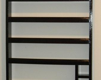 Monogrammed Nail Polish Rack and Accessory Organizer