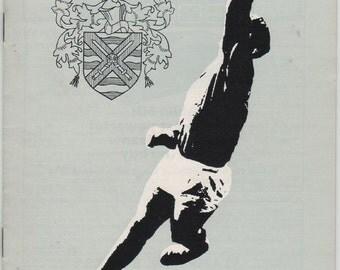 Vintage Football (soccer) Programme - Fulham v Manchester City, 1966/67 season