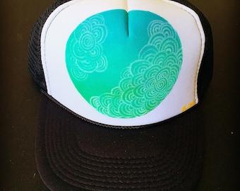 Blue World Trucker Hat
