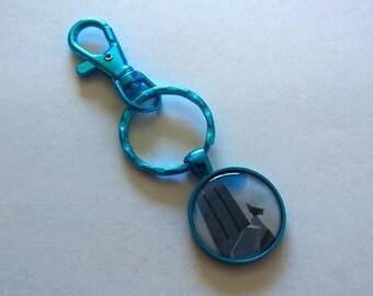 Blue YA Backpack Clip