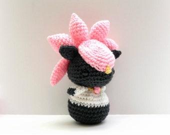 Crochet Diancie Inspired Chibi Pokemon