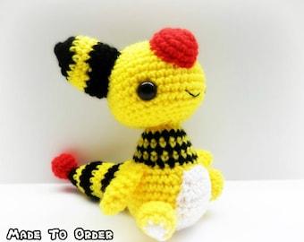 Crochet Ampharos Inspired Chibi Pokemon