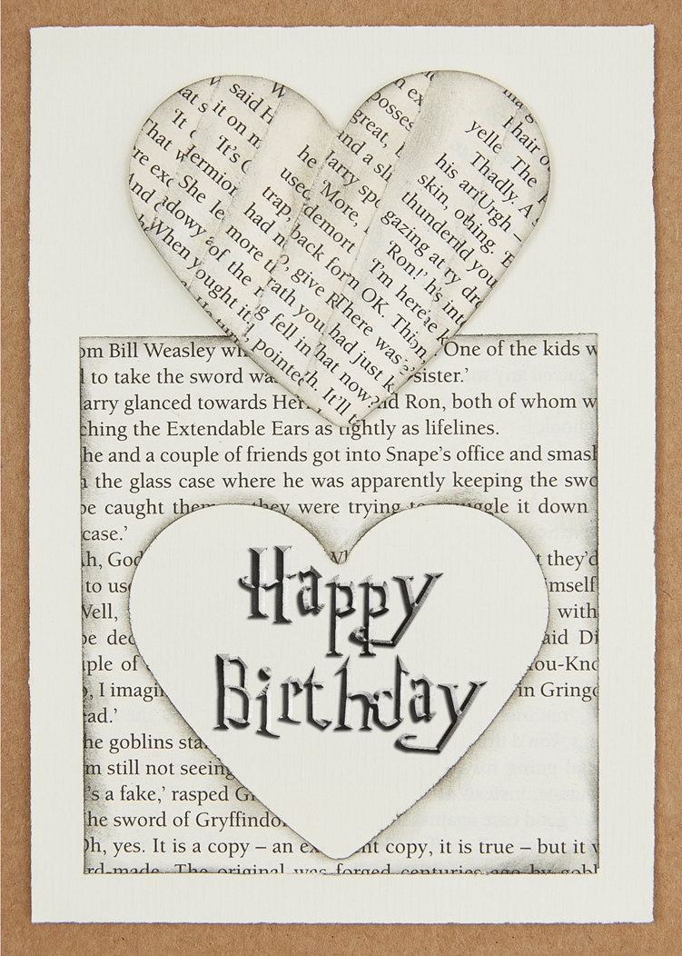 harry potter birthday card 5 x 7 download by