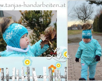 Norwegian Earflap Hat Knitting Pattern