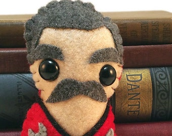 "Montgomery ""Scotty"" Scott (mustache version) - Star Trek plushie"