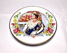 The Queen Mother, Crown Staffordshire, Pin Dish, Fine Bone China, 80th Birthday Souvenir, Royal Collectible, Queen Mum, British Royal Family