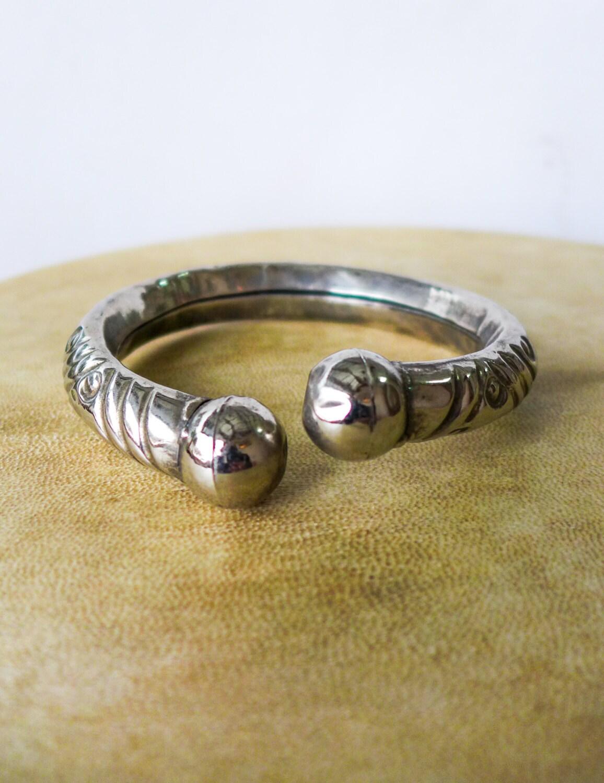 lower arm cuff silver arm bracelet lower arm bracelet solid