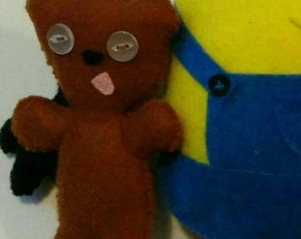 Minion Bob's Teddy Plushie, Doll, toy, Teddy only.