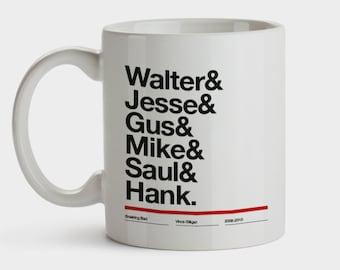 Mug Breaking Bad - Walter White - Heisenberg - Jesse Pinkman - Breaking Bad - Walter White Taza Homenaje