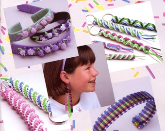 plastic lacing bracelet instructions