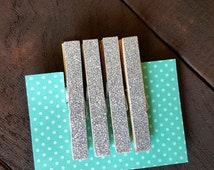 Clothes Pins, back to school, Glitter clothes pins, magnetic, decorative, small gifts, accessories, household items