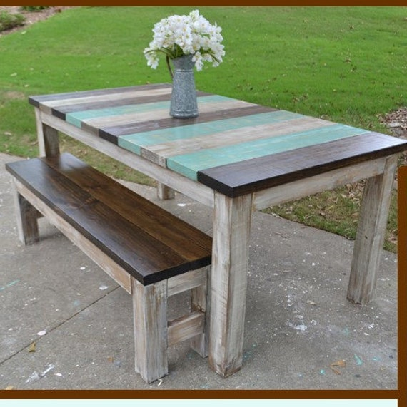 Whimsical Farmhouse Table