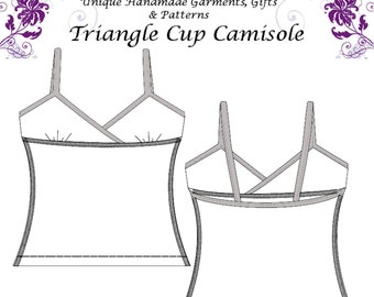 Traingle Cup Camisole Pattern