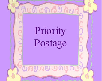 Priority 1-3 Day Postage