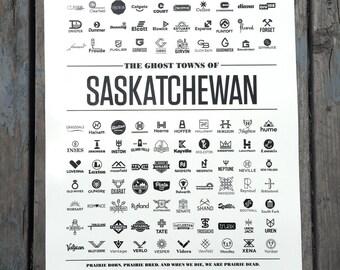 The Ghost Towns of Saskatchewan