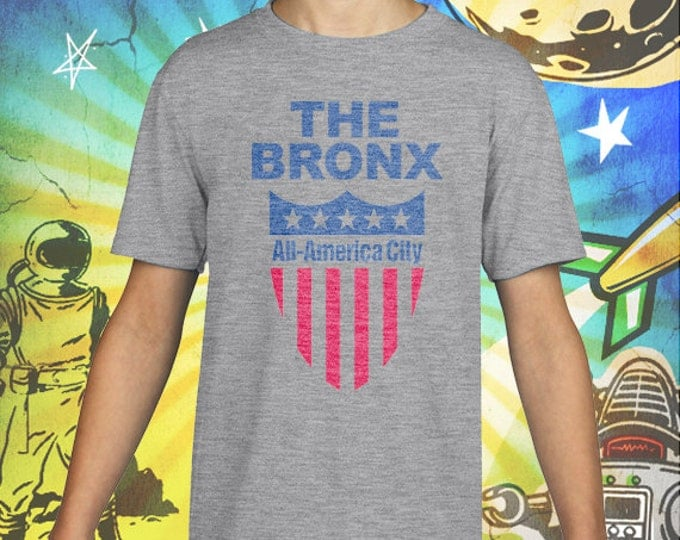 The Bronx All America City Gray Kid's Tee