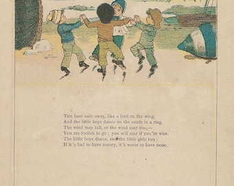 kate greenway under garden window poems and kids downloads