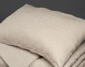 Linen Pillow Case - Linen Pillow Cover - Cushion Cover - Throw Pillow - Pillow Case Gray