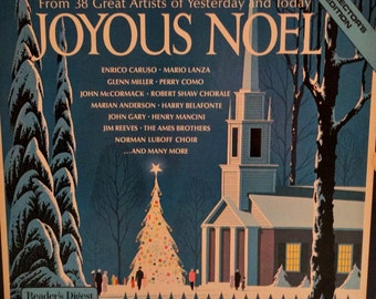 Joyous Noel  (From 38 Great Artists of Yesterday and Today, Reader's Digest) (Box set 4 LP / Album) Holiday Music