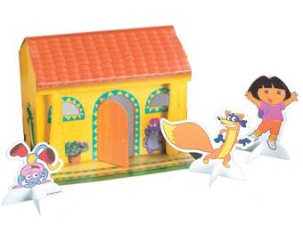 1/ Dora the Explorer Centerpiece