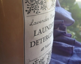 All-Natural Liquid Laundry Detergent