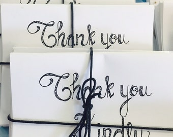 Thank You Kindly - Notecards, Correspondence Cards