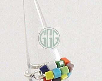 Ring - Colorful Blocks (R030)