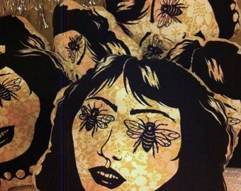 Bee Eye Lady Pillow