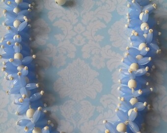Vintage Japan Lucite Necklace Plastic Necklace Mid Century 1950s