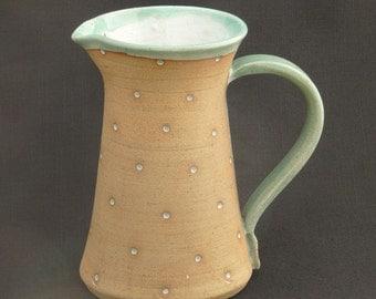 Medium Dotty Stoneware Jug