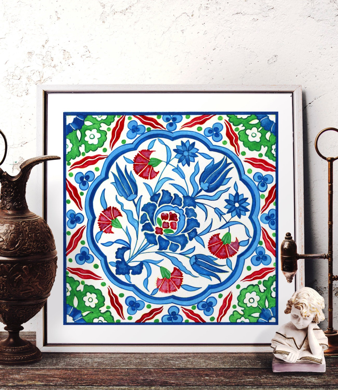 moroccan tile design home decor mosaic tile design watercolor