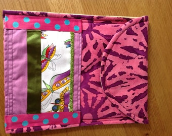 iPad cover with pocket. Padded