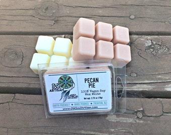 30% off - Soy Wax Melts - Pecan - Wax Melts - Tart Melts - Pecan Pie Clamshell