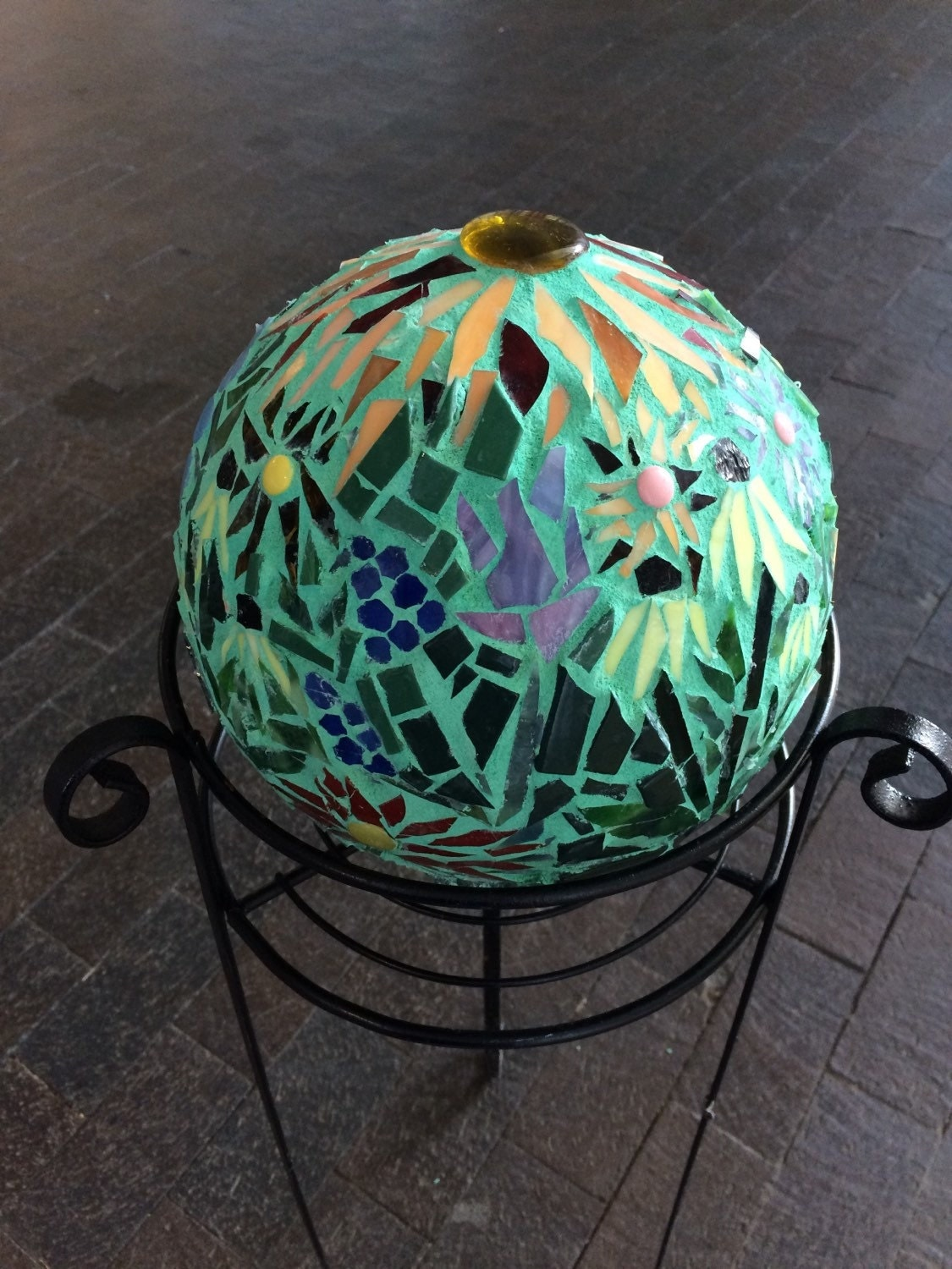 Mosaic Garden Gazing Ball