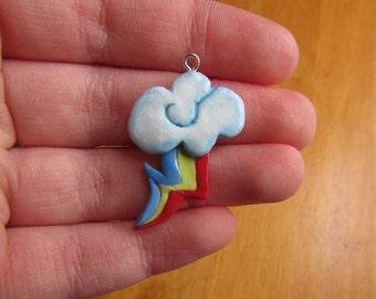 CLEARANCE - Rainbow Dash Cutie Mark Charm from My Little Pony