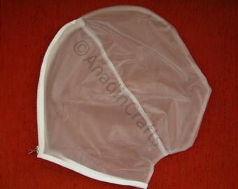 Semi-TRANSPARENT soft PVC Gimp Mask ***MATURE***