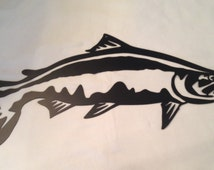 Metal Fish Wall Lights : Popular items for fish wall decor on Etsy